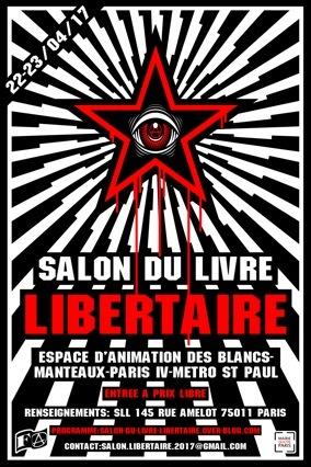 Salon du livre libertaire 2017